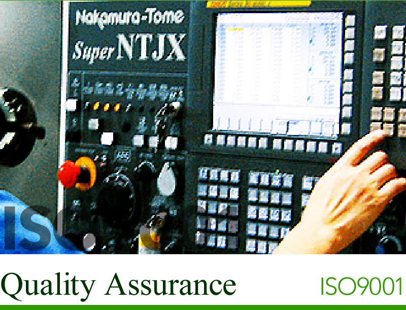 Quality Assurance ISO9001 Accredited