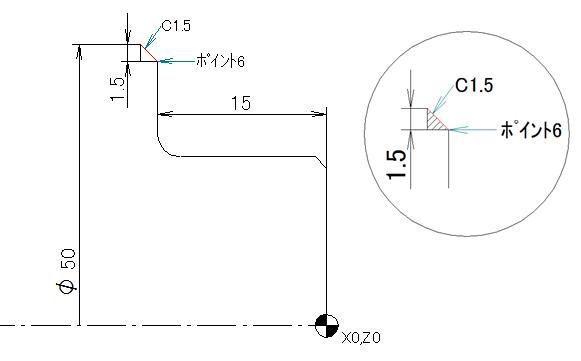 NCプログラム座標計算方法3