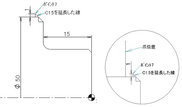 NCプログラム座標計算方法4