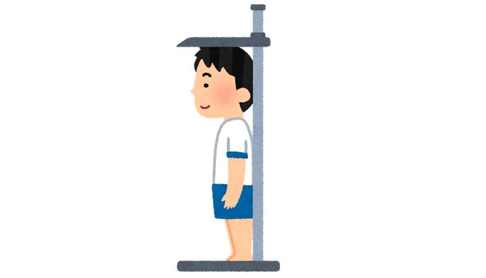 身長測定の誤差