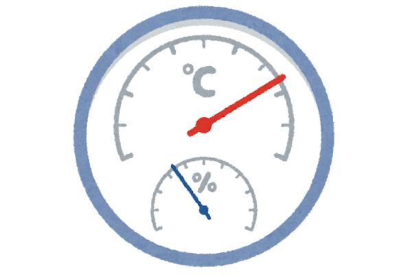 温度による測定への影響