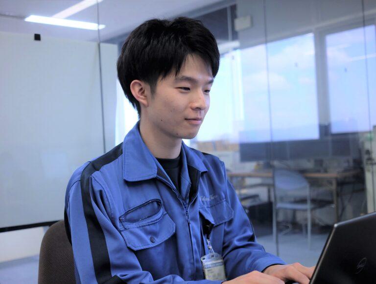 オペレーションソフト設計課 岡島